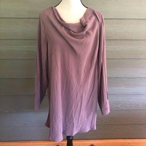 Soft Surroundings Tunic Top Dress Off Shoulder XL